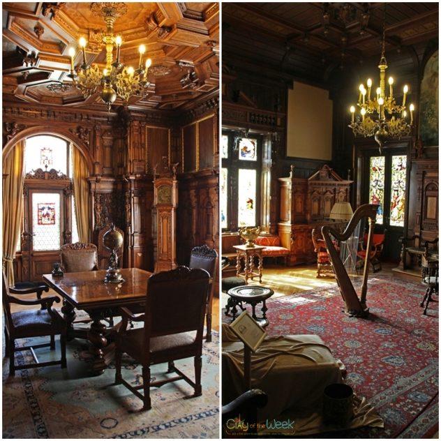 Music Room at Peles Castle