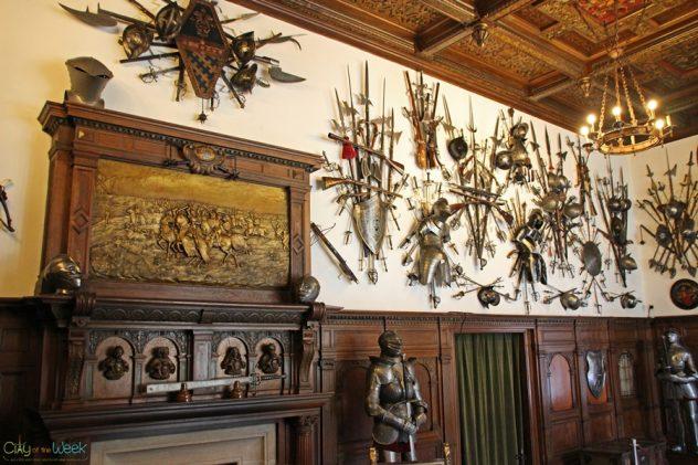 Weapon's Room, Peles Castle