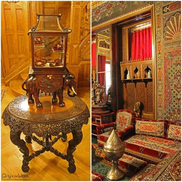 Oriental Room at Peles Castle