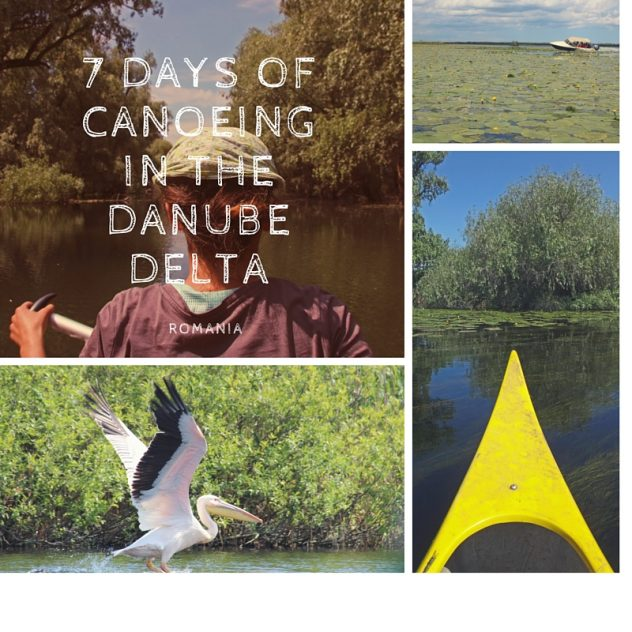 Canoeing in the Danubee Delta, Romania