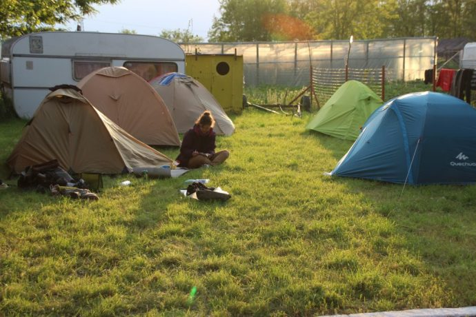 Camping in the Danube Delta