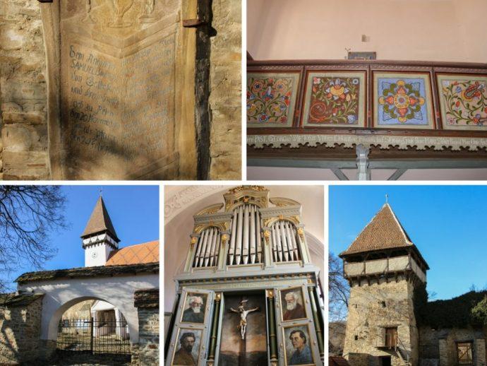 Mesendorf Medieval Fortified Saxon Church, Transylvania, Romania