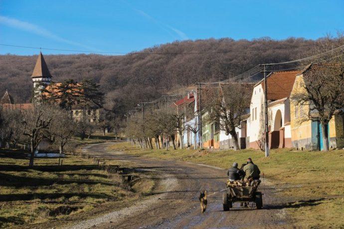 Mesendorf Saxon Fortified Church, Transylvania, Romania