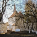 Entrance to Crit Fortified Saxon Church, Transylvania, Romania