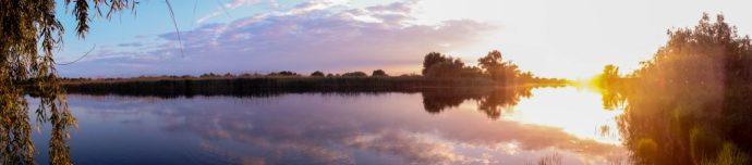 Danube Delta sunset, Romania