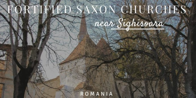 Fortified Saxon Churches Near Sighisoara Romania