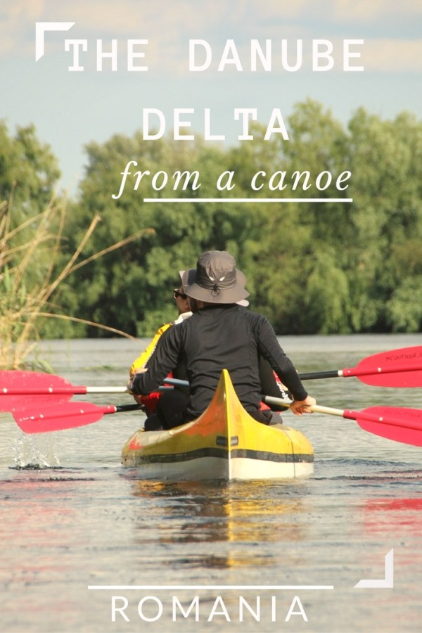 The Danube Delta from a Canoe, Romania