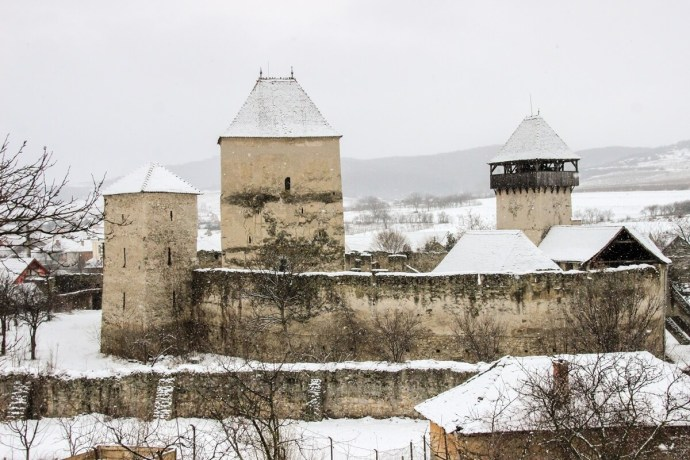 Calnic Fortress, Alba, Romania