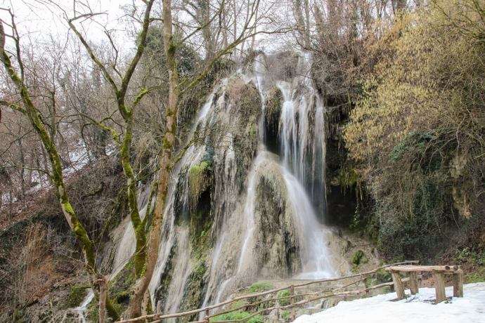 Clocota Waterfall, Hunedoara County, Romania