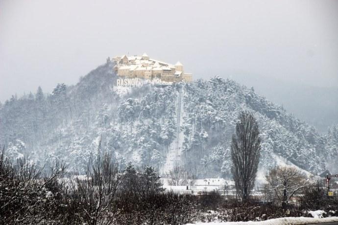 Rasnov Fortress, Southern Carpathians, Romania