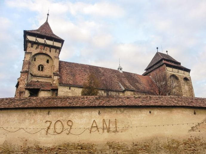 Valea Viilor fortified church, Transylvania, Romania