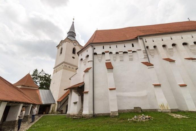Dârjiu Fortified Church, Transylvania, Romania