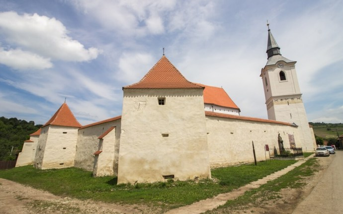 Dârjiu Fortified Church, Transylvania, Romania