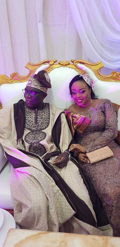 Mr and Mrs Gbenga Alade
