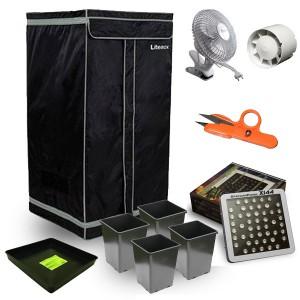kit box de culture mylarise 60x60x120 led x144