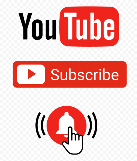Button Youtube Subscribe Cutout Png Clipart Images Citypng