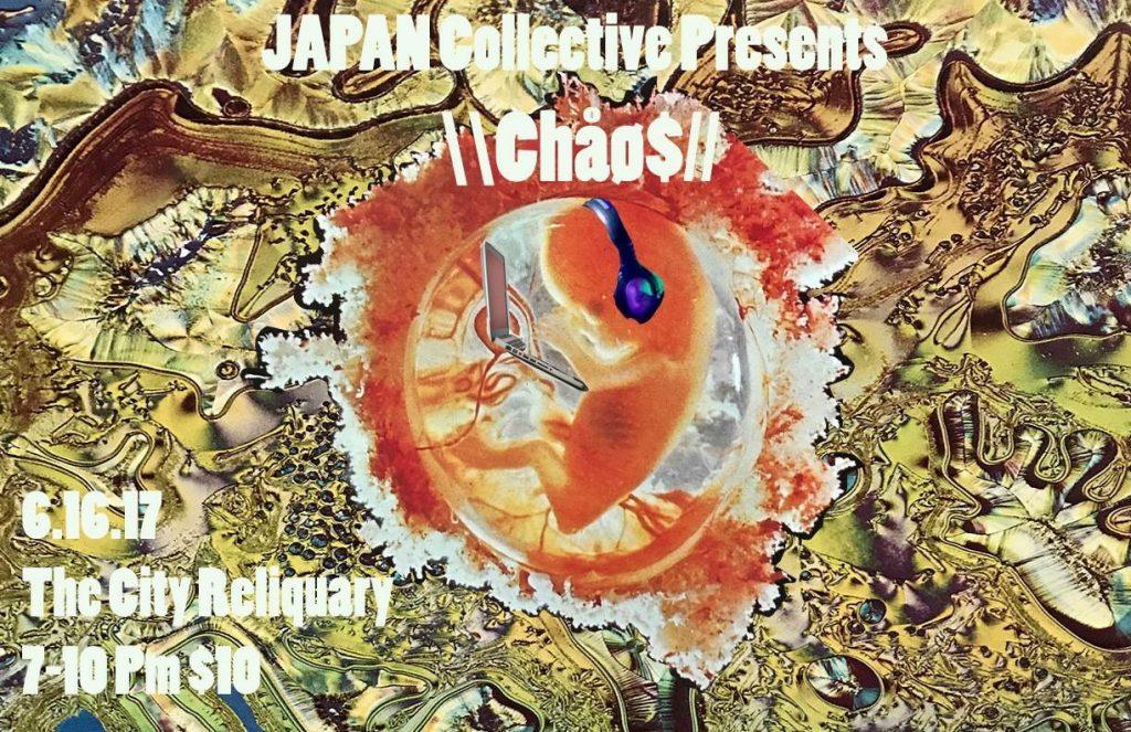 Flyer for JAPAN: Chaos program