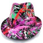 headwear-splatter-trilby-black-coral-red-emerald-green-purple-pink-festival-fashion-uv-reactive-2_1024x1024