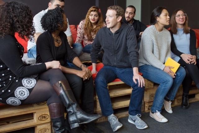 Companies helping ReDI like Facebook