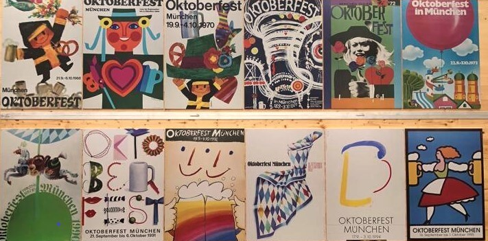 Oktoberfest Posters from previous years