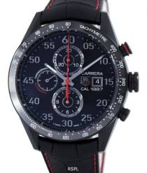 Tag Heuer Carrera Chronograph Automatic Titanium Caliber 1887 Swiss made CAR2A80. FC6237 Men's watch