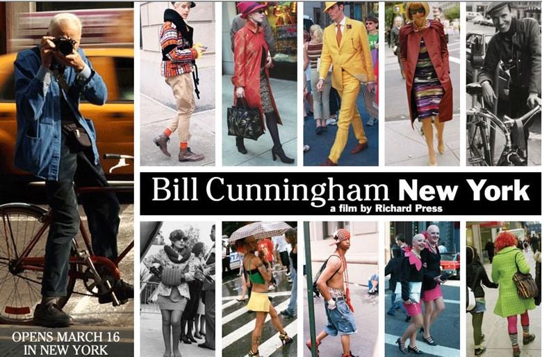 Билл Каннингем Нью-Йорк