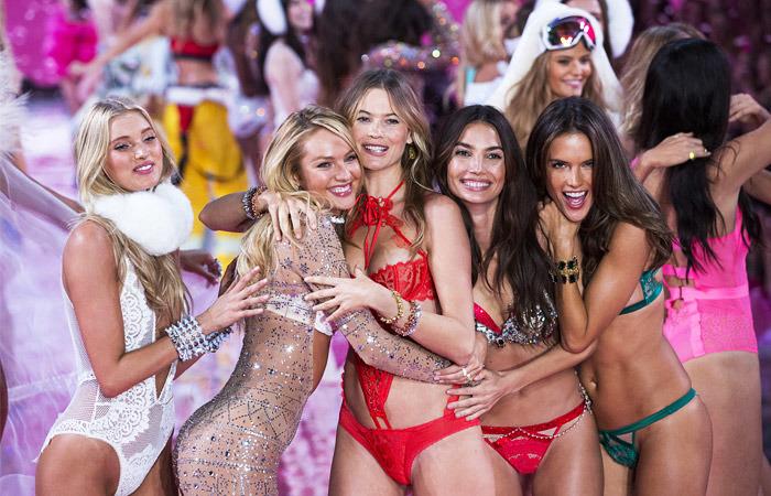 Соблазнительные модели «Victoria's Secret» зажгли наНью-Йоркском подиуме