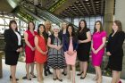 2015 Future Leaders Award Shortlisted Candidates with (centre) Women in the City Founder & CEO Gwen Rhys