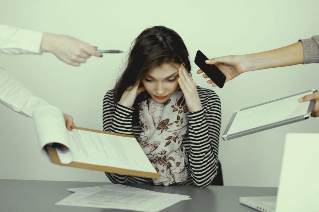 workplace stress image
