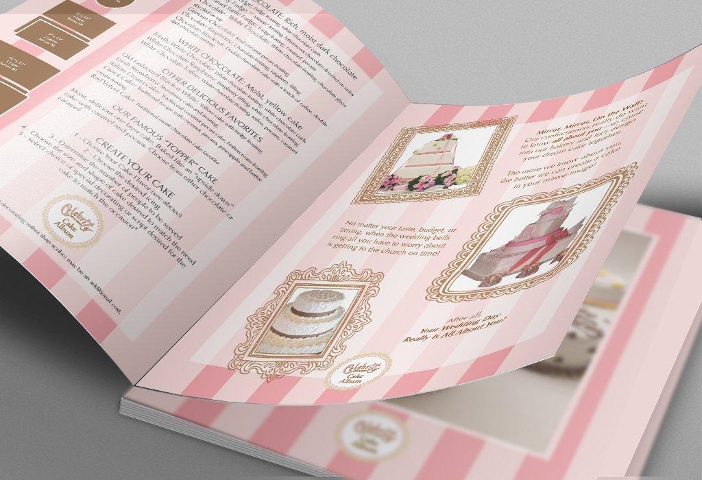 cake album for bakery