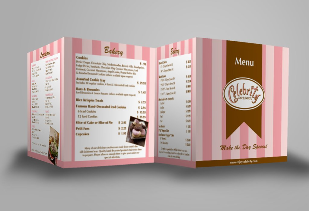 Accordion Fold Menu