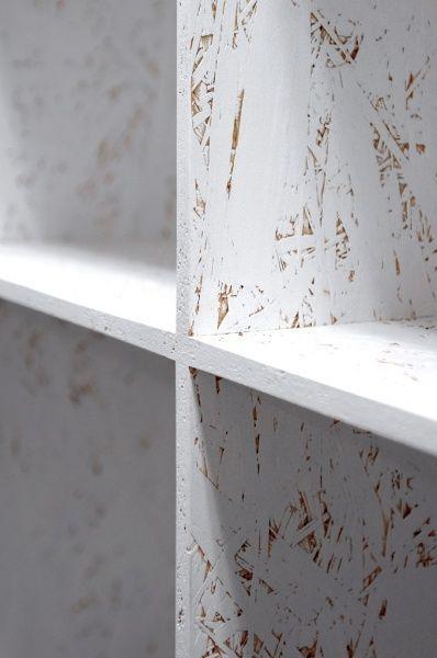 déco meuble osb peint blanc