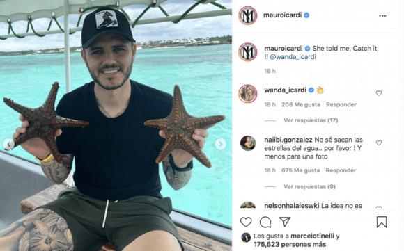 La polémica actitud de Mauro Icardi en su viaje con Wanda Nara que molestó a sus seguidores