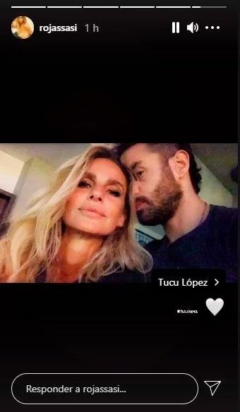 """Lussich fue muy irónico con Sabrina Rojas al ver su posteo blanqueando el romance con Tucu López: """"Parece que es para Luciano que lo mira por Instagram"""""""