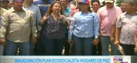 (+Video) Arrancó Plan Ecosocialista Hogares de Paz
