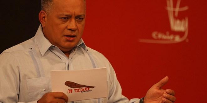 Diosdado Cabello : A Venezuela no la tutelará ni el imperialismo ni la OEA
