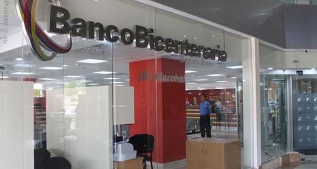 Banco Bicentenario otorgará créditos a comerciantes afectados por guarimbas