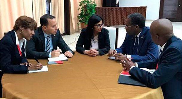 Venezuela y Haití revisaron acuerdos de cooperación binacional