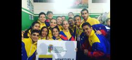 !Generación de oro! Suma 10 medallas en Sudamericano de Karate