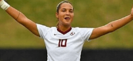 Deyna Castellanos anotó otra diana para Florida State Seminoles