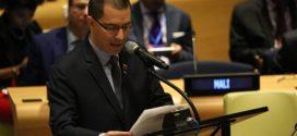 Canciller Arreaza reafirma decisión de Venezuela y del Mnoal de eliminar armas nucleares