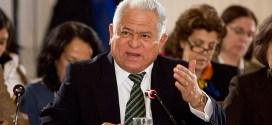 Embajador Jorge Valero acusó a Alto Comisionado de DDHH de sucumbir ante el Imperio norteamericano