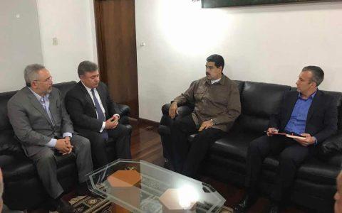 Presidente Maduro sostuvo reunión  con representantes de la empresa petrolera Chevron para América y África