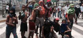 La miseria del periodismo opositor: uso de niños con fines propagandísticos