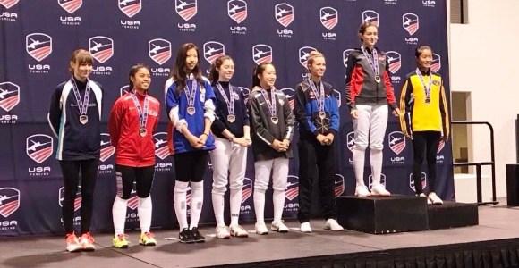 Esgrimista venezolana conquistó bronce en Estados Unidos