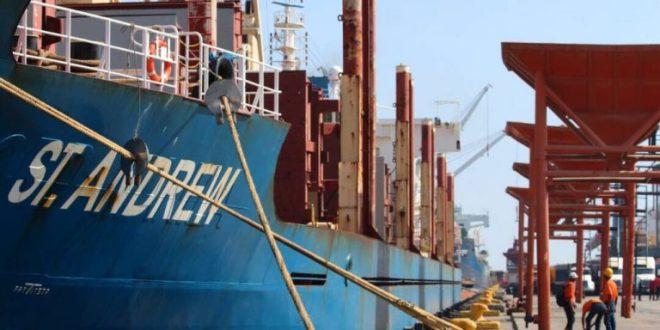 Arribó al país nuevo cargamento con 31 mil 140 toneladas de trigo proveniente de Rusia