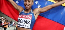 Venezolana Yulimar Rojas finalista del trofeo a la atleta revelación del año