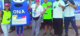 Movimiento Paz y Vida realiza caminata de montaña en La Vainilla