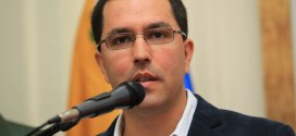 Como «insolente» calificó Jorge Arreaza el comunicado de Costa Rica el cual desconoce resultados electorales