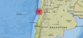 El norte de Chile fue sacudido por un sismo de 6, 3 grados de magnitud